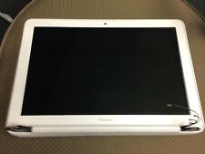 """Apple MacBook 13"""" (2009-2010) - COMPLETE SCREEN ASSEMBLY - WHITE UNIBODY"""