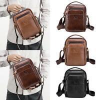 Men's Genuine Leather Handbag Briefcase Tote Laptop Shoulder Bag Messenger Bags