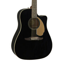 Fender Redondo Player Electro Acoustic Guitar Jetty Black