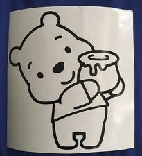 WINNIE THE POOH WITH HUNNY VINYL DECAL FOR CARS AND TRUCKS Windows  Hunny Pots