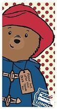 Paddington Bear Beach Towel 100 Percent Cotton Multi-Colour 70 x 140cm
