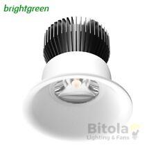 NEW BRIGHTGREEN D550+ CURVE 8.5w LED NICHE DOWNLIGHT WHITE ROUND 4000K COOL MINI