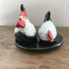 Chicken Ceramic Salt & Pepper Shakers Animal Decorative Salt and Pepper Shaker