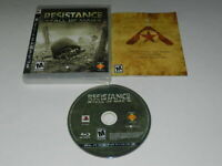 Resistance Fall of Man Playstation 3 PS3 Video Game Complete