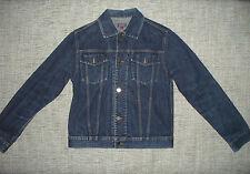 GIACCA  DENIM   jeans STEFANEL Tg . S
