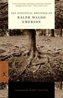 THE ESSENTIAL WRITINGS OF RALPH WALDO EMERSON (MODERN LIBRARY **BRAND NEW**