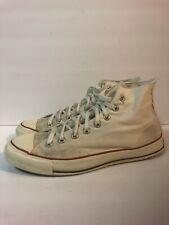 Converse Vintage Chuck Taylor White Size 10 Men's All Star USA Blue Label Tag Hi