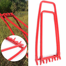Fence Crimping Tool Iron Manual Fencing Strainer Fence Fixer Repair Tool Usa