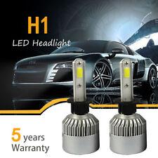 Pair H1 980W 147000LM Car LED Headlight Bulb Conversion COB kit 6000K White