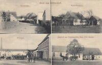 #578 - AK Gruss aus Gräfendorf - Dorfstr. Försterei Rittergut Gasthof  1915 gel.