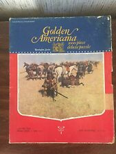 Golden Americana An Old Time Plains Fight Remington Series 1973