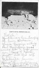 Giant's Coffin Mammoth Cave KY nice vintage postcard postally used in 1906 PMC