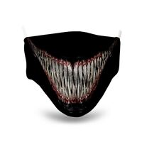 Venom Carnage Face Mask Soft Lightweight Breathable High Quality MADE IN USA