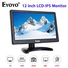 "EYOYO 12"" IPS 1920*1080 HD Monitor Display Screen VGA BNC Audio HDMI For PC CCTV"
