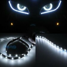 "2Pcs Bright  White 30SMD 24"" 60cm LED Side Shine Strip Bulb Fog DRL HeadLight"