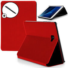 Red Smart Case Cover Samsung Galaxy Tab A 10.1 SM-P580 with S Pen Stylus