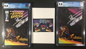 Silver Surfer Black 1 Joe Jusko Masterpiece Variant Classic/Virgin SET CGC 9.8