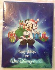WALT DISNEY Lighted Castle Picture Frame Keepsake Mickey Mouse Cinderella Castle