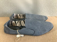 BNWT Teenage Boys Mens Sz 6 Rivers Blue Slip On Style Casual Shoes