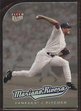 2005 Fleer Ultra PLATINUM MEDALLION Die-Cut Parallel #35 Mariano Rivera! HOF