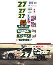 27 Rusty Wallace Kodiak 1989 1/64 scale decal AFX Lifelike Autoworld Tyco