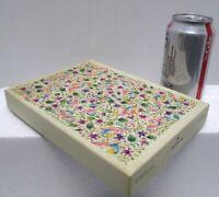 Vintage Floral Stationery Box Hallmark Sweet Violets BOX ONLY Cottagecore Decor