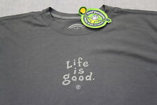 LIFE IS GOOD Men BLUE  Do What You Like Like What You Do CRUSHER SHIRT NWT S M L