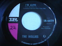 The Hollies I'm Alive 1965 45rpm VG+