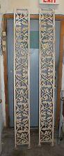 2-Cast Iron Trellises, Grape Vine Design- Over 7FT. Tall- Doorway Or Garden