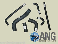 TRIUMPH TR6 PI '69-'76 REINFORCED RUBBER WATER, RADIATOR COOLING HOSE KIT