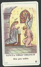 Estampa antigua de la Anunciacion andachtsbild santino holy card santini
