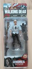 The Walking Dead Figure. Andrea. Series 4. New and Sealed. McFarlane Toys