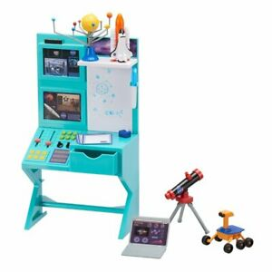"""My Life as Science Desk NASA Space Shuttle Rover Play Set for 18"""" dolls torn box"""