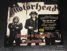 MOTORHEAD - Thunder & Lightning - 2 Track EXCLUSIVE BEST BUY CD Single! NEW! OOP