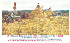 Vintage Postcard-A Steam Engine and Steel Separator for $880