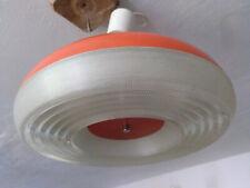 UFO Lampe orange retro space age 70er Colani Style Vintage Design Plafonnier