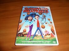Cloudy With a Chance of Meatballs (DVD, Widescreen/Full Frame 2010) Used