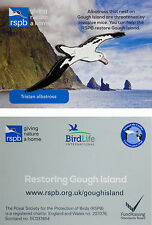 RSPB Pin Badge | Tristan Albatross | Gough Island conservation [01284]