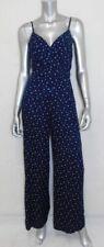 DENIM & SUPPLY RALPH LAUREN NWT Blue V-Neck Sleeveless Pants Jumpsuit sz 2 $145