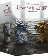 Game of Thrones:The Complete Seasons 1-7 (DVD,2017,34-Disc Set)NEW 1 2 3 4 5 6 7