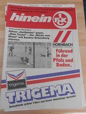 Hinein 1 FC Kaiserslautern vom 13.09.1988 gegen 1 FC Köln