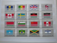 16x stamps ONU Nations Unies UN United Nations NEW YORK Flags 1983 NH**  1x