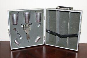 Vintage Portable Traveling Bar Set