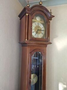 Grandfather clock-  pendulum, W M Widdop