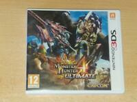 Monster Hunter 4 Ultimate Nintendo 3DS 2DS UK Game **FREE UK POSTAGE**