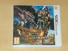 Monster Hunter 4 Ultimate Nintendo 3DS 2DS UK PAL **FREE UK POSTAGE**