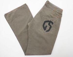 G-Star Jeans Hose W33 L34 grau uni Gabardine E720