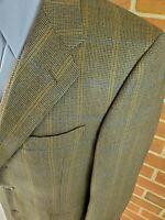 Coppley Blazer 3 Button Multicolor Plaid 40 R -  Ermenegildo Zegna Cloth
