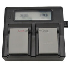 LCD Fast Charger +2x Battery for Olympus BLN-1 BCN-1 OMD E-M5 E-M1 PEN E-P5 HLD7