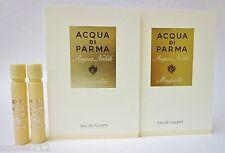 ACQUA DI PARMA Acqua Nobile MAGNOLIA EDT Women 1.2ml 0.04oz Sample Spray X 2